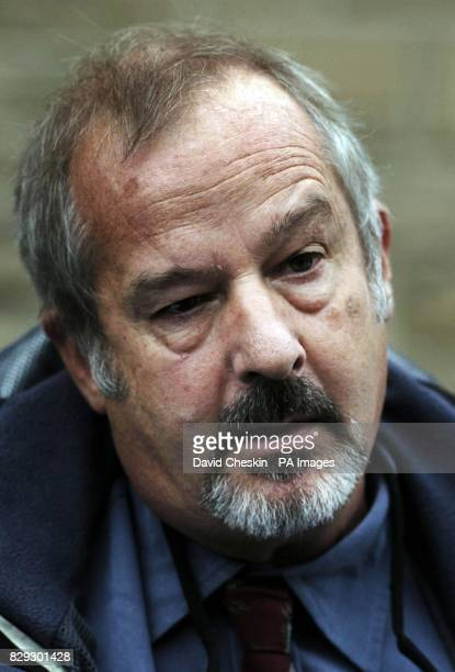 David Dick Senior Investigations Officer in Scotland talks to the press after the case of Stephen Muir at Selkirk court in the Scottish Borders who...