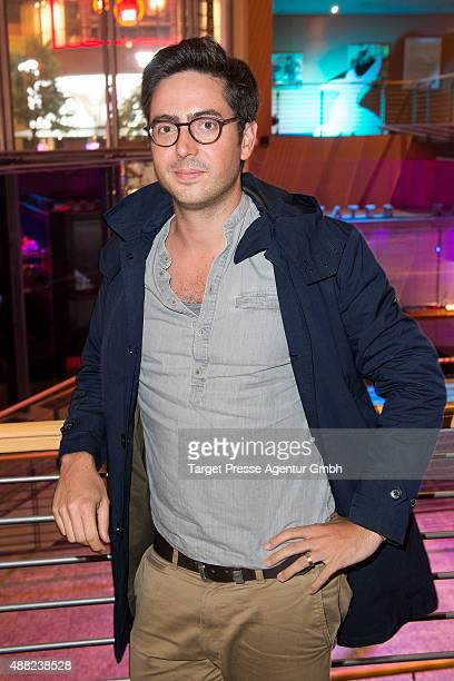 David Dietl attends the First Steps Awards 2015 after party at Stage Theater on September 14 2015 in Berlin Germany