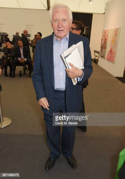 David Dimbleby attends the Frieze Art Fair 2017 VIP Preview in Regent's Park on October 4 2017 in London England