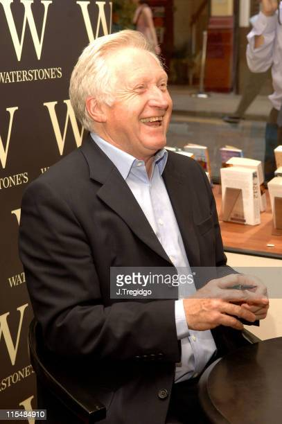 David Dimbleby during David Dimbleby Signs His Book 'A Picture of Britain' at Waterstone's in London June 22 2005 at Waterstone's in London Great...