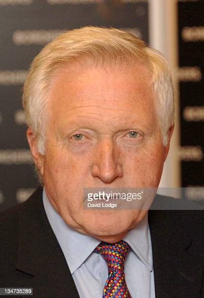 David Dimbleby during David Dimbleby Signs His Book 'A Picture of Britain' at Borders in London June 8 2005 at Borders Bookstore in London Great...