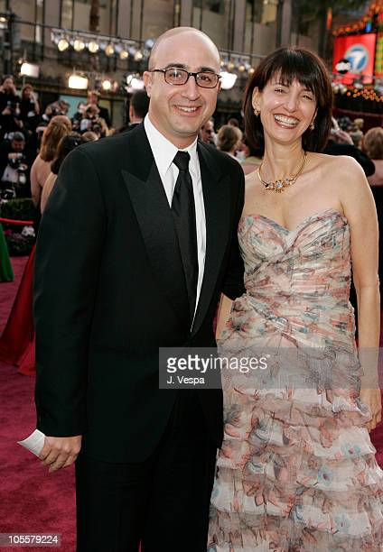 David Dinerstein and Ruth Vitale during The 77th Annual Academy Awards Executive Arrivals at Kodak Theatre in Hollywood California United States