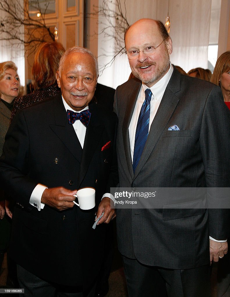 <a gi-track='captionPersonalityLinkClicked' href=/galleries/search?phrase=David+Dinkins&family=editorial&specificpeople=171317 ng-click='$event.stopPropagation()'>David Dinkins</a> and Joe Lhota attend Loews Regency Hotel's Inaugural Power Breakfast at Park Avenue Winter on January 9, 2013 in New York City.