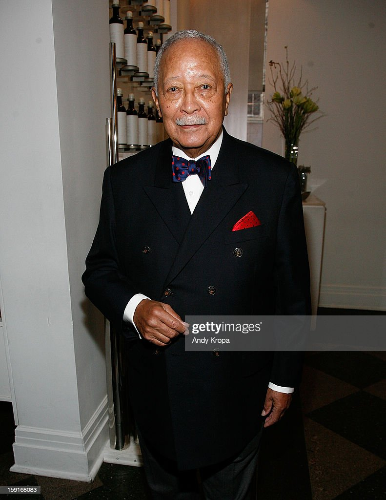 <a gi-track='captionPersonalityLinkClicked' href=/galleries/search?phrase=David+Dinkins&family=editorial&specificpeople=171317 ng-click='$event.stopPropagation()'>David Dinkins</a> attends Loews Regency Hotel's Inaugural Power Breakfast at Park Avenue Winter on January 9, 2013 in New York City.