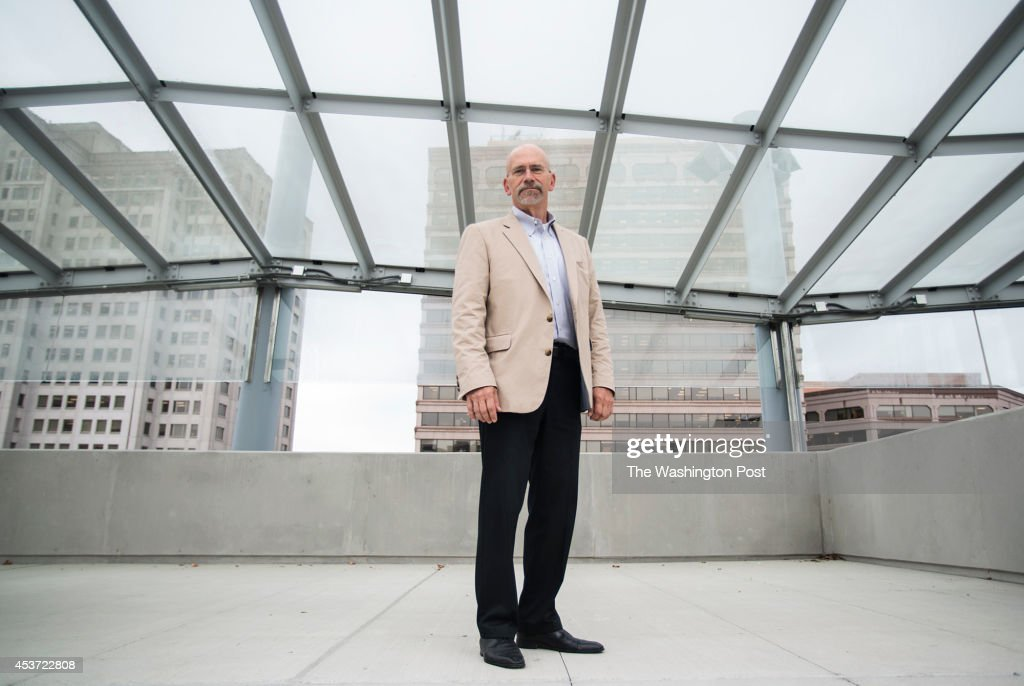 David Dise director of Department of General Services of Montgomery County MD poses for a portrait at Silver Spring Transit Center on Tuesday August...