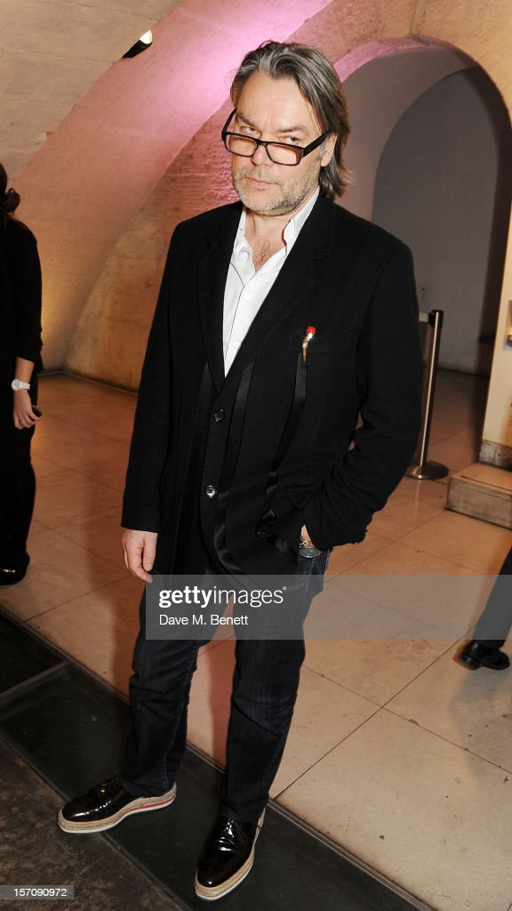 David Downton attends a private view of 'Valentino: Master Of Couture', exhibiting from November 29th, 2012 - March 3, 2013, at Somerset House on November 28, 2012 in London, England.