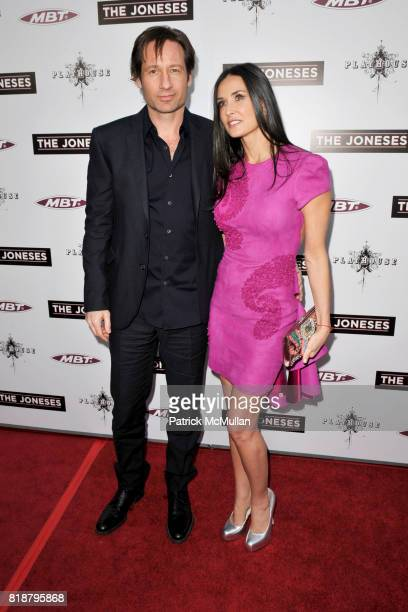 David Duchovny and Demi Moore attend 'The Jonses' Los Angeles Premiere at ArcLight Cinemas on April 8 2010 in Hollywood California