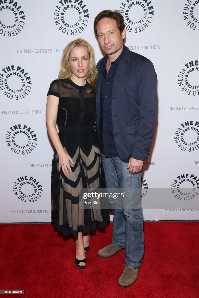 "Paley Center For Media Presents:""The Truth Is Here: David Duchovny And Gillian Anderson On The X-Files"""