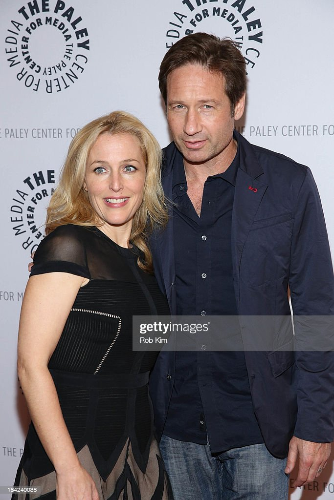 <a gi-track='captionPersonalityLinkClicked' href=/galleries/search?phrase=David+Duchovny&family=editorial&specificpeople=201628 ng-click='$event.stopPropagation()'>David Duchovny</a> and <a gi-track='captionPersonalityLinkClicked' href=/galleries/search?phrase=Gillian+Anderson&family=editorial&specificpeople=202894 ng-click='$event.stopPropagation()'>Gillian Anderson</a> attend 'The Truth Is Here: <a gi-track='captionPersonalityLinkClicked' href=/galleries/search?phrase=David+Duchovny&family=editorial&specificpeople=201628 ng-click='$event.stopPropagation()'>David Duchovny</a> And <a gi-track='captionPersonalityLinkClicked' href=/galleries/search?phrase=Gillian+Anderson&family=editorial&specificpeople=202894 ng-click='$event.stopPropagation()'>Gillian Anderson</a> On The X-Files' presented by the Paley Center For Media at Paley Center For Media on October 12, 2013 in New York City.