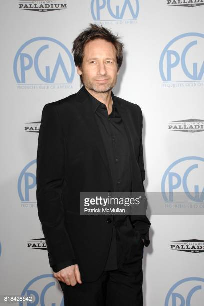 David Duchovny attend The 21st Annual Producer's Guild Awards at Hollywood Palladium on January 24 2010 in Hollywood California