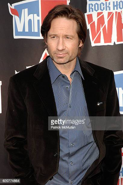 David Duchovny attends 3rd Annual VH1 Rock Honors at Pauley Pavillion on July 12 2008 in Westwood CA