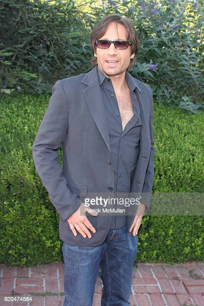 David Duchovny attends Californication DVD Release Party at Private Residence on June 16 2008 in Los Angeles CA