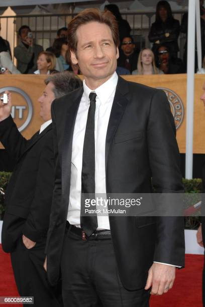 David Duchovny attends The 15th Annual Screen Actors Guild Awards at Shrine Auditorium on January 25 2009 in Los Angeles California