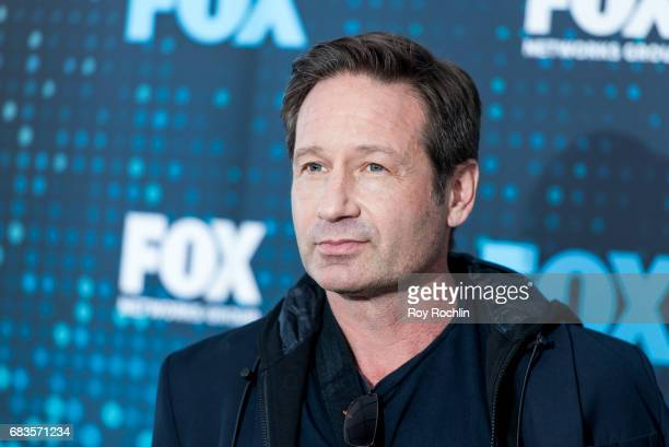 David Duchovny attends the 2017 FOX Upfront at Wollman Rink Central Park on May 15 2017 in New York City