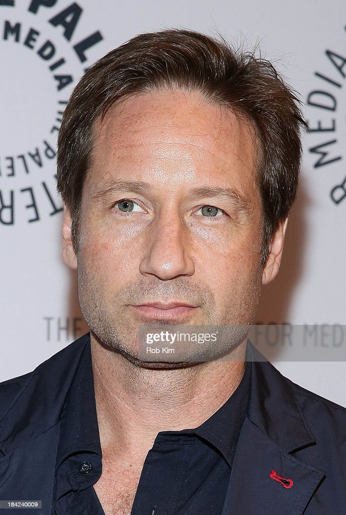 <a gi-track='captionPersonalityLinkClicked' href=/galleries/search?phrase=David+Duchovny&family=editorial&specificpeople=201628 ng-click='$event.stopPropagation()'>David Duchovny</a> attends 'The Truth Is Here: <a gi-track='captionPersonalityLinkClicked' href=/galleries/search?phrase=David+Duchovny&family=editorial&specificpeople=201628 ng-click='$event.stopPropagation()'>David Duchovny</a> And Gillian Anderson On The X-Files' presented by the Paley Center For Media at Paley Center For Media on October 12, 2013 in New York City.