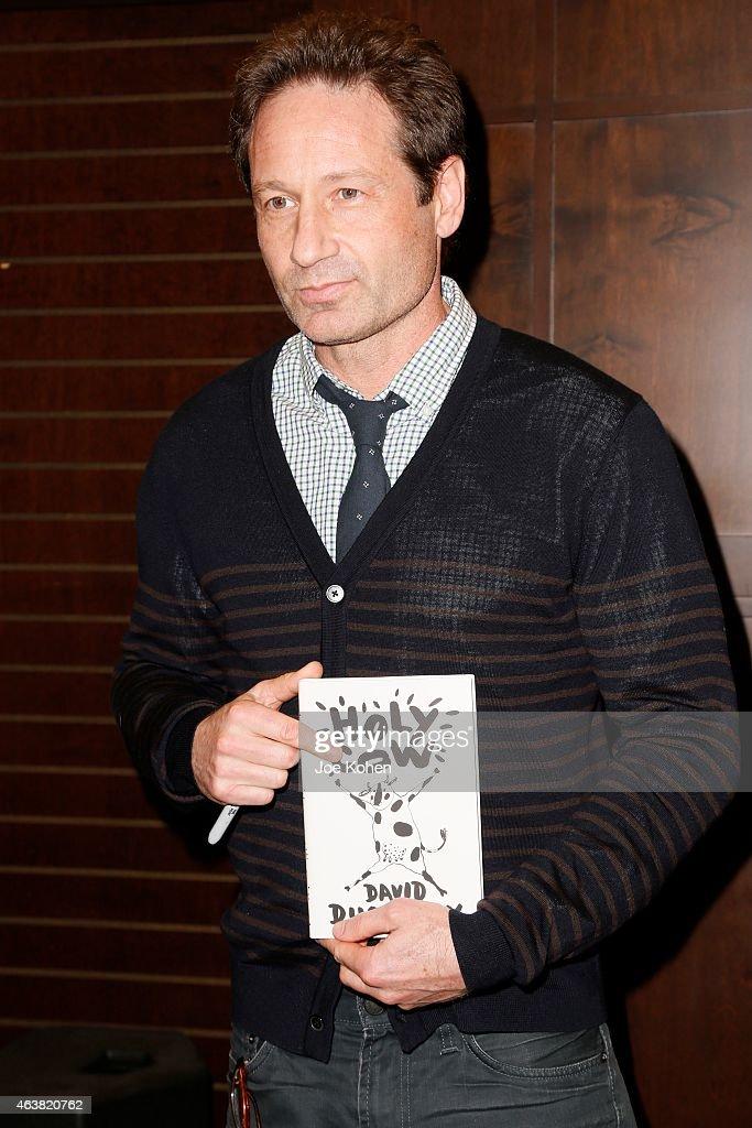 David Duchovny Book Di...