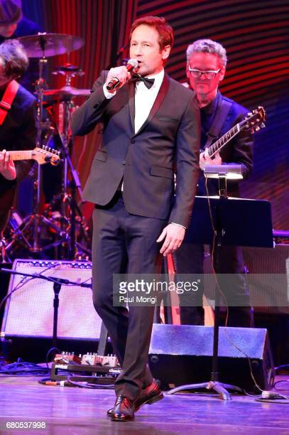 David Duchovny hosts the 2017 Kennedy Center Spring Gala Come Together A Celebration of John Lennon at John F Kennedy Center for the Performing Arts...