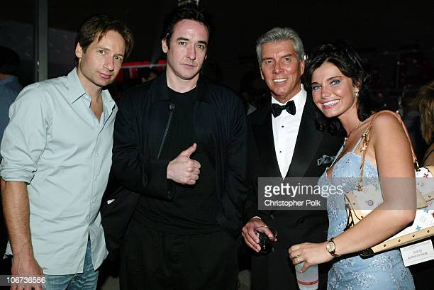 David Duchovny John Cusack Michael Buffer and Lee Buffer *Exclusive*