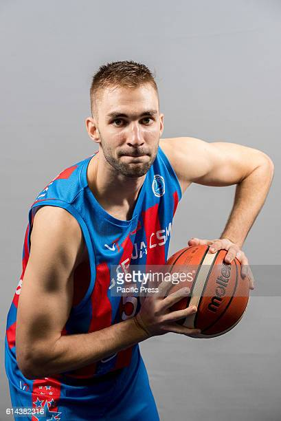 GARDA 'MIHAI VITEAZUL' BUCHAREST ROMANIA David Dudzinski of Steaua CSM EximBank Bucharest during the official photo session of Steaua CSM EximBank...