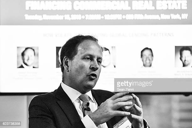 David Durning attends The Commercial Observer Financing Commercial Real Estate at 666 Fifth Avenue on November 15 2016 in New York City