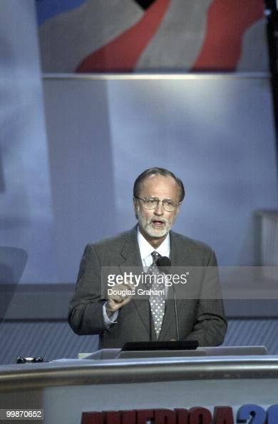David E Bonior DMichduring his speech at the democratic national convention in California