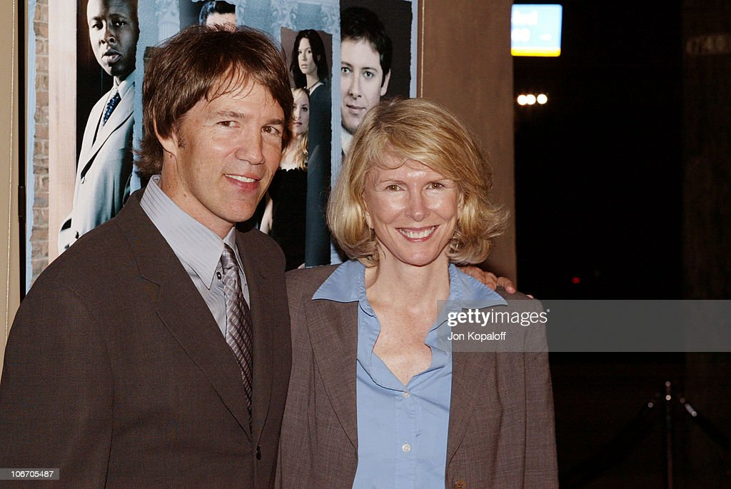 """David E. Kelley and the cast of ABC's hit drama, """"The Practice,"""" celebrate the"""