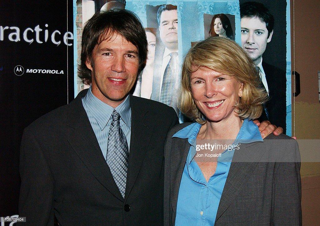 David E Kelley and ABC's Susan Lyne