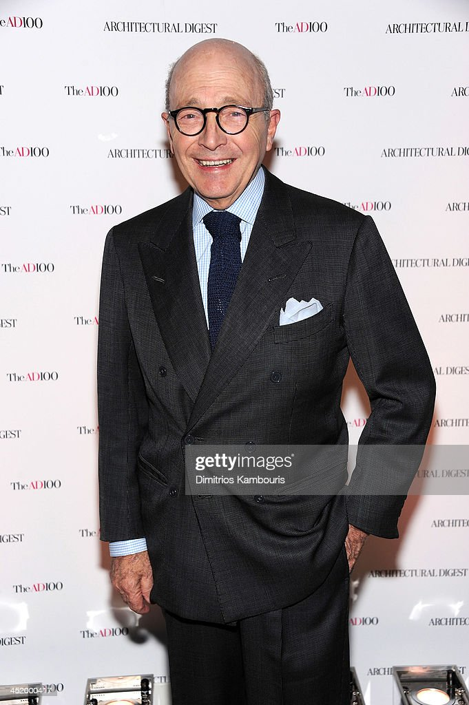 David Easton attends The AD100 Gala Hosted By Architectural Digest Editor In Chief Margaret Russell at The Four Seasons Restaurant on November 25, 2013 in New York City.