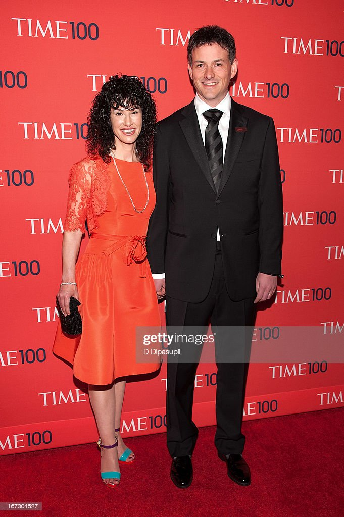 David Einhorn (R) and Cheryl Strauss Einhorn attend the 2013 Time 100 Gala at Frederick P. Rose Hall, Jazz at Lincoln Center on April 23, 2013 in New York City.