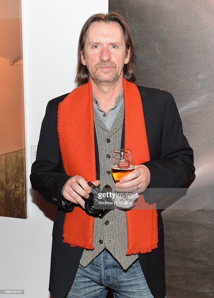 David Eustace attends the Stella Artois launch of the Timeless Beauty Campaign shot by legendary photographer, Annie Leibovitz at Village at the Lift on January 18, 2013 in Park City, Utah.