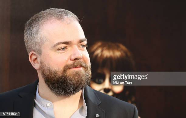 David F Sandberg arrives at the Los Angeles premiere of New Line Cinema's 'Annabelle Creation' held at TCL Chinese Theatre on August 7 2017 in...