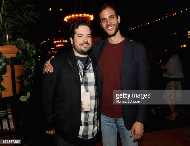 David Fabelo and Drew Xanthopoulos attend the Filmmaker Welcome Party at The Bowery Hotel on April 21 2017 in New York City