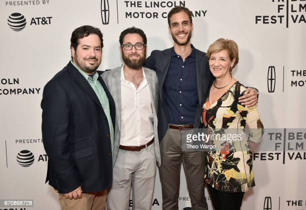 David Fabelo David Hartstein Drew Xanthopoulos and Andrea Meditch attends the 'The Sensitives' Premiere during 2017 Tribeca Film Festival at...