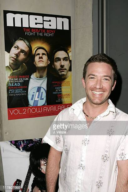 David Faustino during Mean Magazine Hosts Record Release Party for Ashlee Simpson at Concorde in Los Angeles California United States