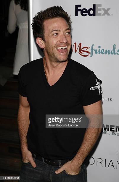 David Faustino during Rock and Shop for MS at Sky Bar at the Mondrian in Hollywood California United States