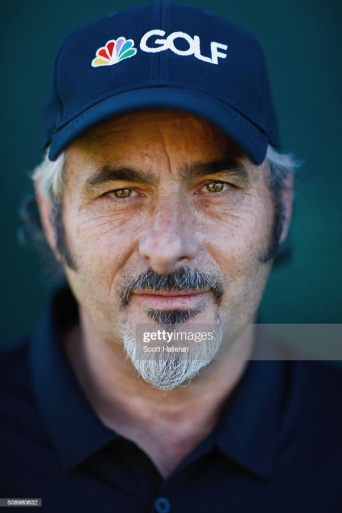 David Feherty of NBC Sports poses for a portrait during the final round of the Waste Management Phoenix Open at TPC Scottsdale on February 7 2016 in...