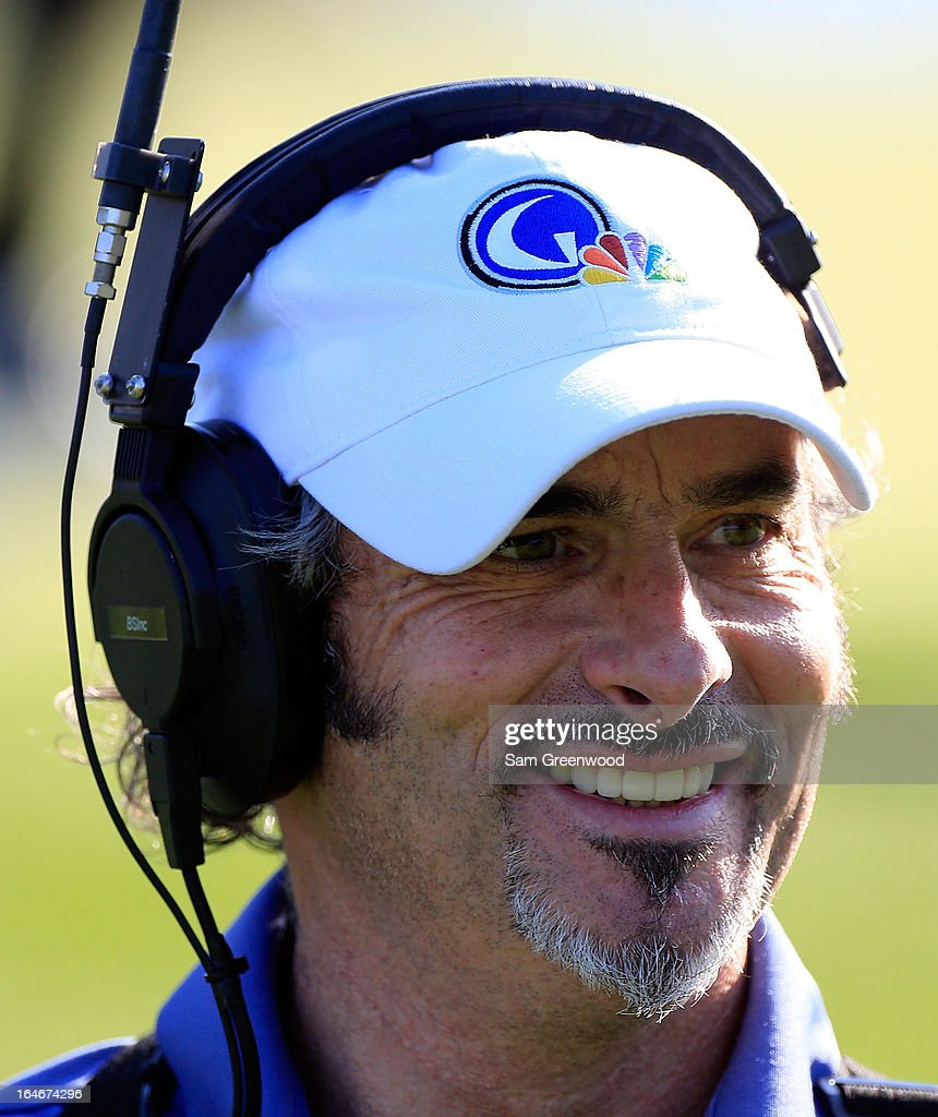 David Feherty reports on the action during the first day of the Tavistock Cup at Isleworth Golf Country Club on March 25 2013 in Windermere Florida
