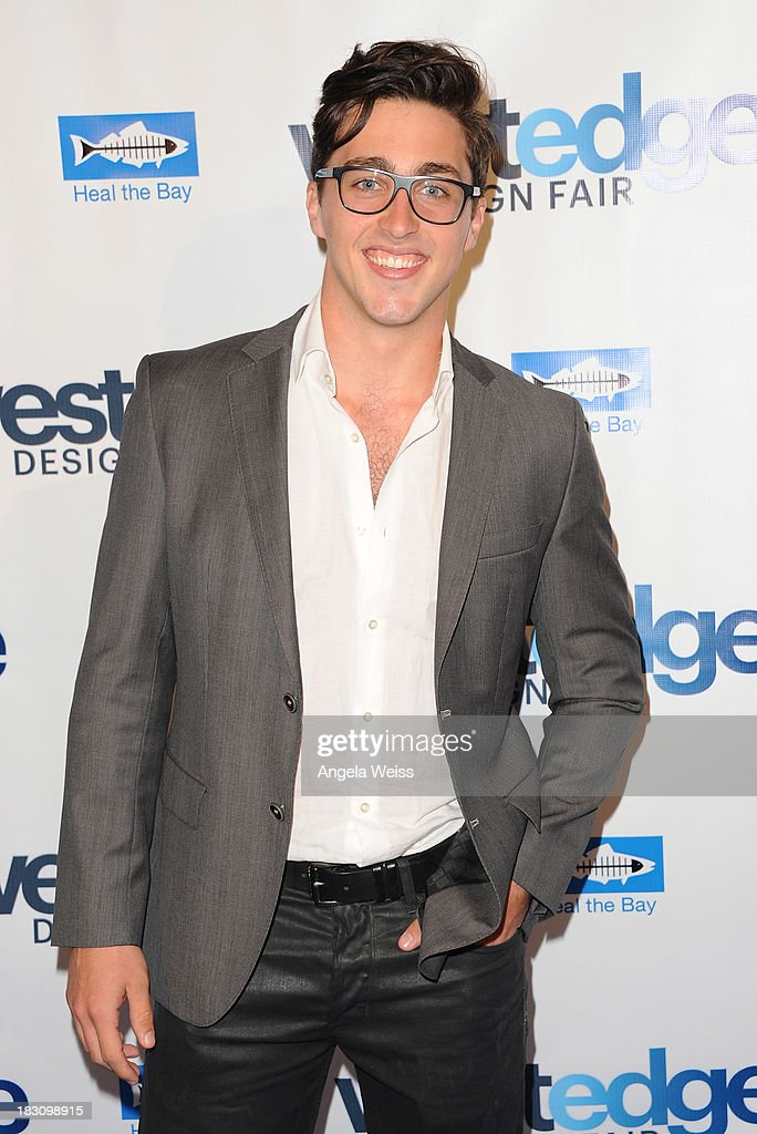 David Flanery attends the WestEdge Design Fair opening night benefiting Heal the Bay at Barker Hangar on October 3, 2013 in Santa Monica, California.