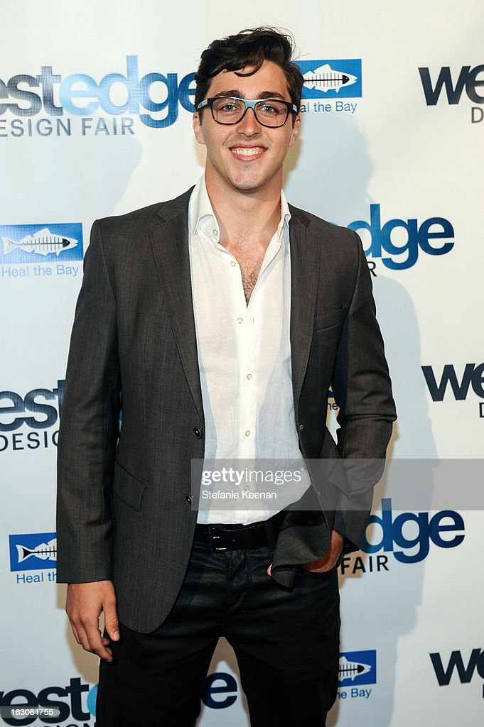 David Flanery attends WestEdge Design Fair at Barker Hangar on October 3, 2013 in Santa Monica, California.