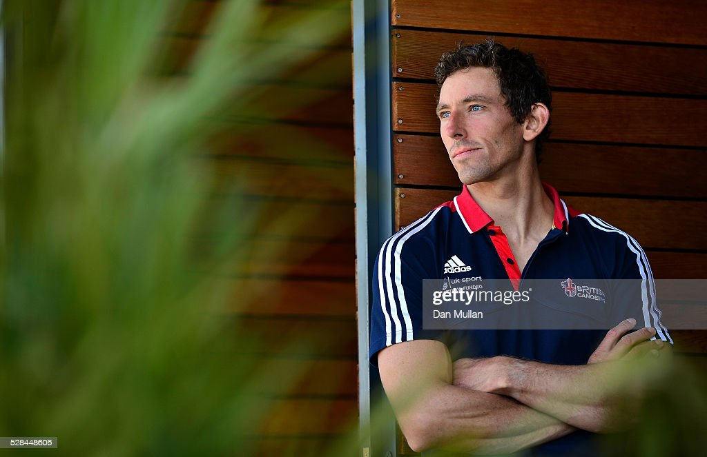 <a gi-track='captionPersonalityLinkClicked' href=/galleries/search?phrase=David+Florence&family=editorial&specificpeople=4145655 ng-click='$event.stopPropagation()'>David Florence</a> of Great Britain poses for a portrait during the Team GB Canoe Slalom Olympic Media Day at the Lee Valley White Water Centre on May 05, 2016 in London, England.