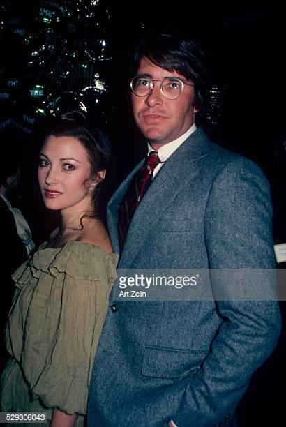 David Flynn with his wife Jane Seymour circa 1970 New York