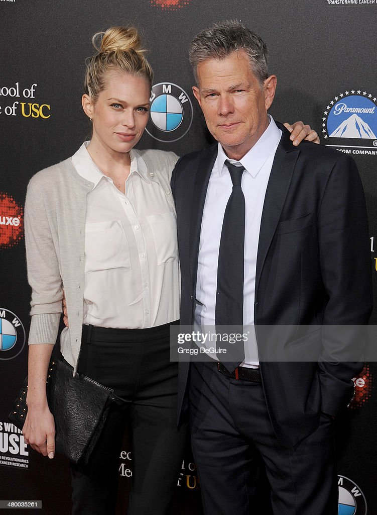 <a gi-track='captionPersonalityLinkClicked' href=/galleries/search?phrase=David+Foster&family=editorial&specificpeople=210611 ng-click='$event.stopPropagation()'>David Foster</a> and daughter Erin Foster arrive at the 2nd Annual Rebel With A Cause Gala at Paramount Studios on March 20, 2014 in Hollywood, California.