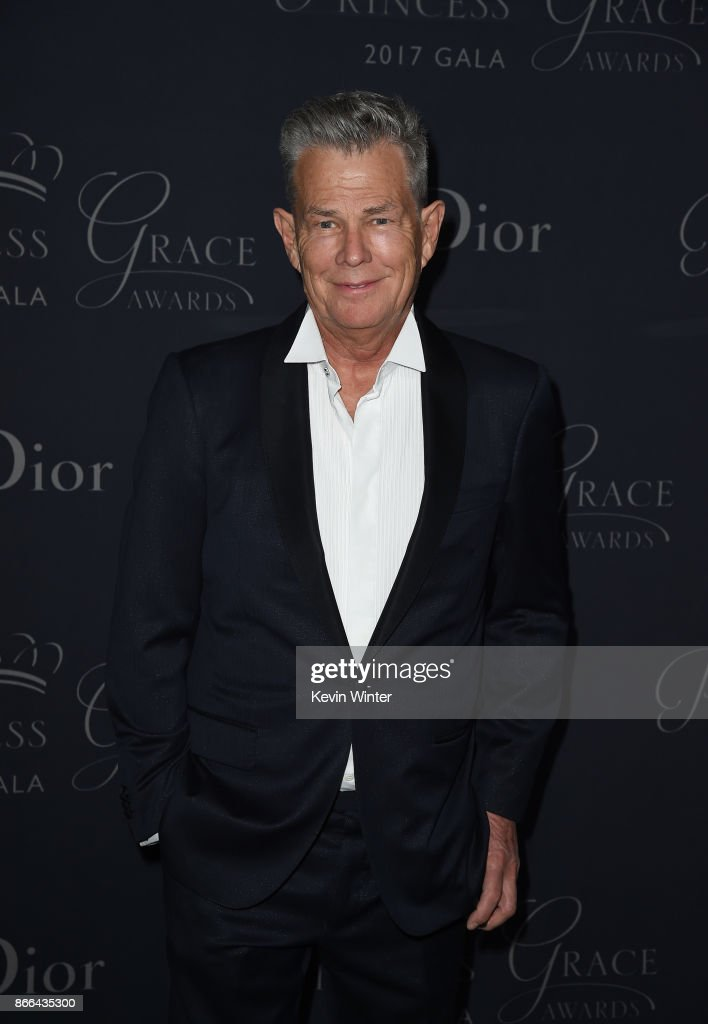 David Foster attends 2017 Princess Grace Awards Gala at The Beverly Hilton Hotel on October 25, 2017 in Beverly Hills, California.