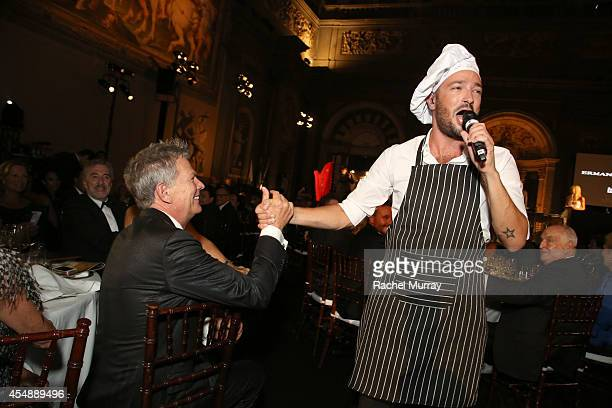 David Foster attends the Celebrity Fight Night gala celebrating Celebrity Fight Night In Italy benefitting The Andrea Bocelli Foundation and The...