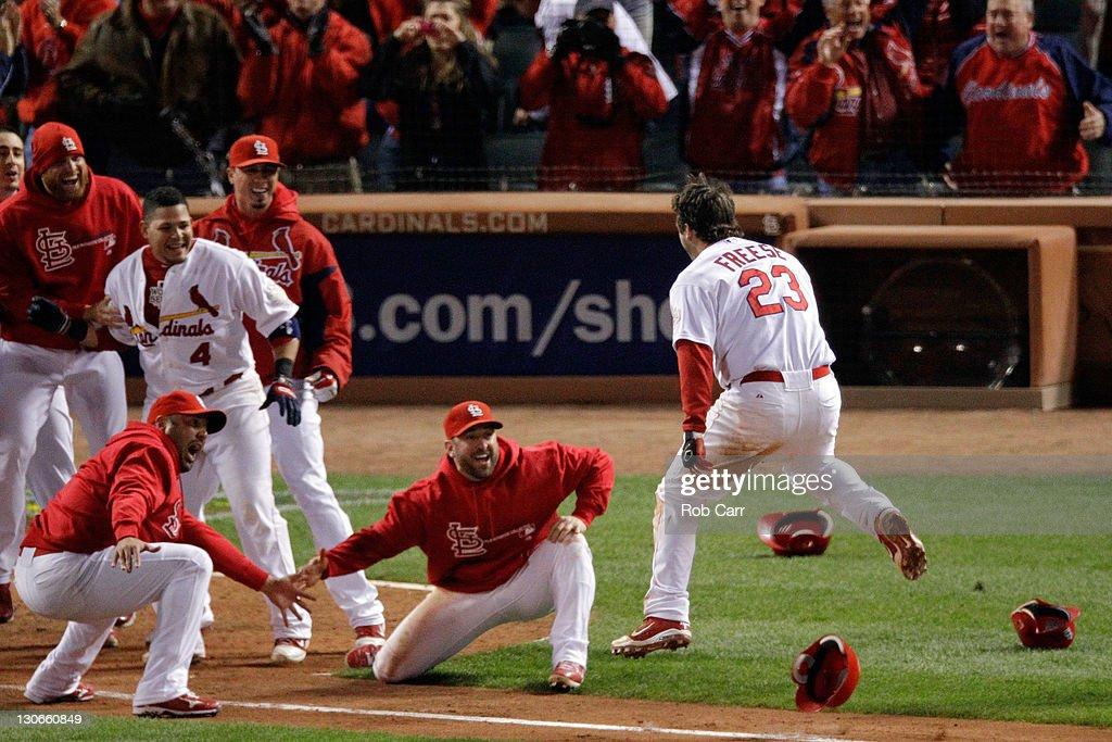2011 World Series Game 6 - Texas Rangers v St Louis Cardinals