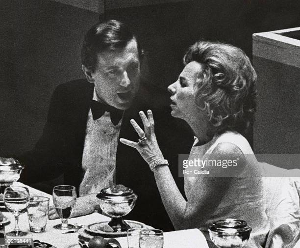 David Frost and Ethel Kennedy during David Frost and Ethel Kennedy Sighting at 'Restore Ball' September 28 1970 at Americana Hotel in New York City...