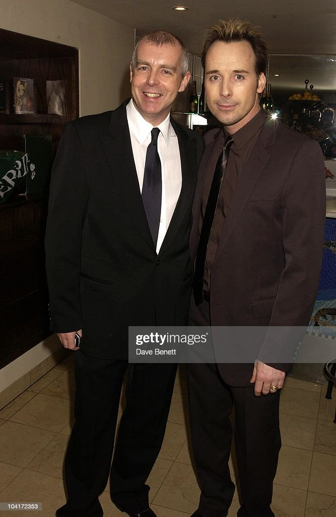 David Furnish And Neil Tennant, Sir Elton John And Sir Terrance Conran Celebrated Ten Years Of Quaglinos Restaurant And Ten Years Of The Elton John Aids Foundation, At Quaglinos Restaurant, London