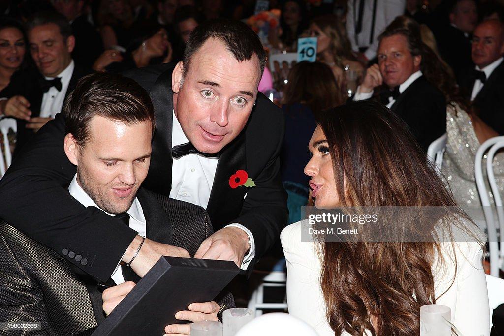 David Furnish and Tamara Ecclestone attends the Grey Goose Winter Ball at Battersea Power Station on November 10, 2012 in London, England.