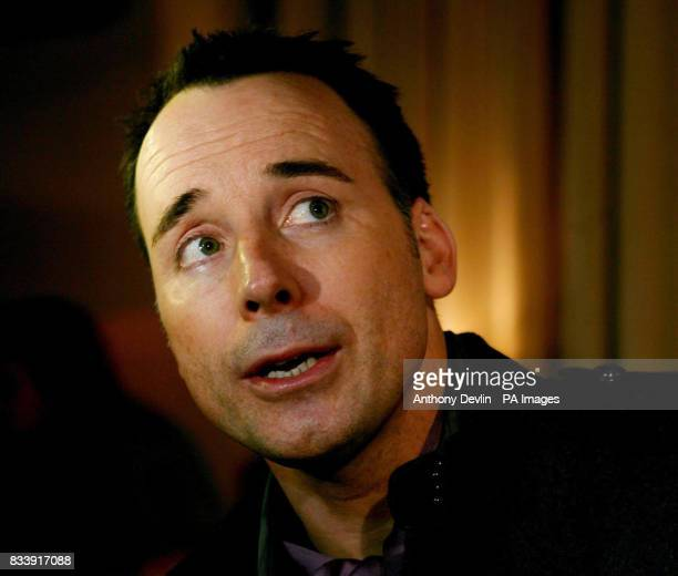 David Furnish arrives at the Grey Goose Vodka and The Elton John AIDS Foundation VIP launch party One Piazza Covent Garden London