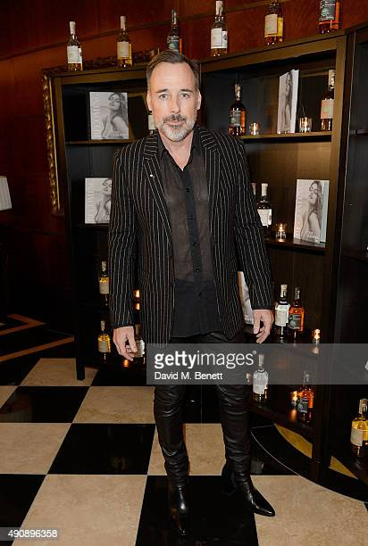 David Furnish arrives at the London launch of Casamigos Tequila and Cindy Crawford's book 'Becoming' hosted by Rande Gerber George Clooney and...